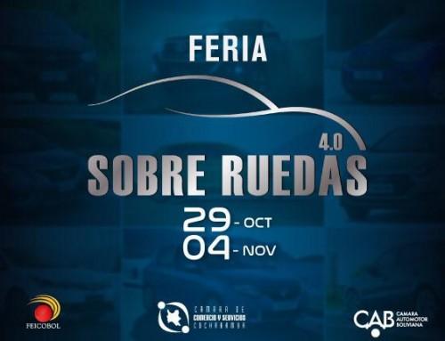 FEICOBOL lanza primera Feria Híbrida Sobre Ruedas 4.0 desde el inicio de la pandemia