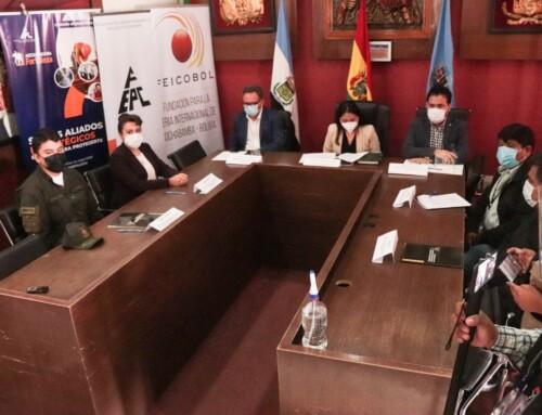 Cinco instituciones se unen para dar solución al congestionamiento en la red vial fundamental que une Cochabamba con el occidente